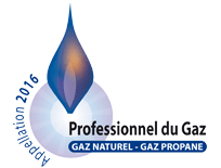 Logo Appellation 2016, Professionnel du Gaz